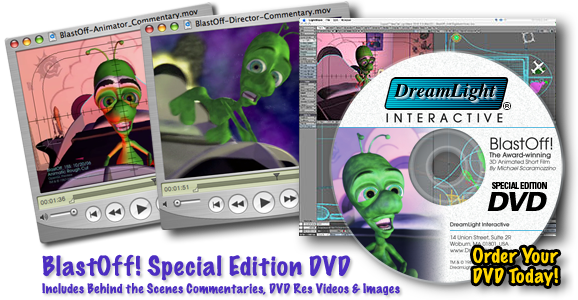 BlastOff! Special Edition DVD Includes Behind the Scenes Commentaries, Videos, Images & More!