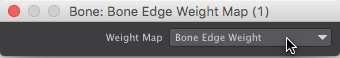 Bone Edge Weight Node