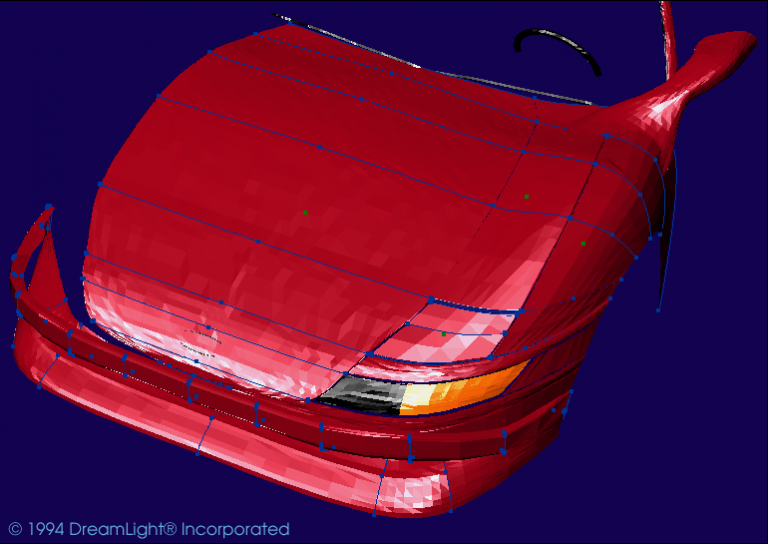 Bose 3D Splines Skinned