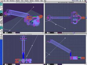CyberCruiser Space Ship Room 3D Models