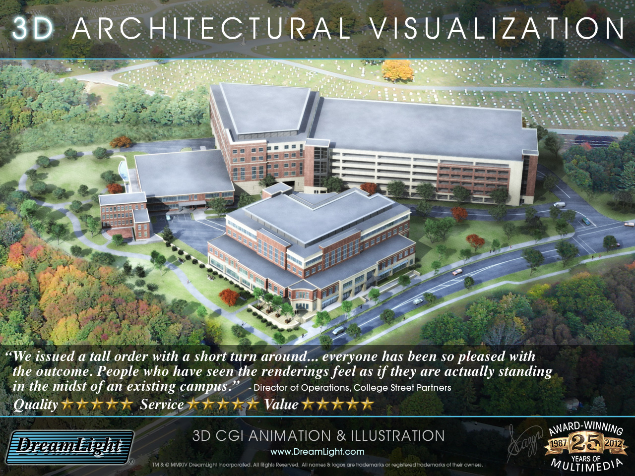 3d architectural visualization fly by animation - 3d architectural visualization ...