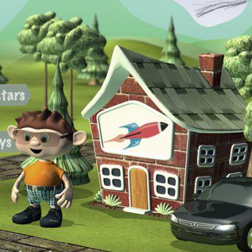 3D Mobile App Assets – Characters, Sets & Props