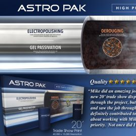 3D Trade Show Graphics – Astro Pak