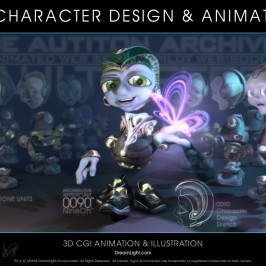 3D Character Design and Animation – Desktop Evolution