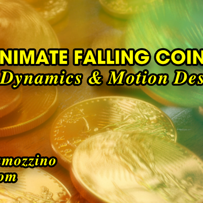 How to animate falling coins with Bullet Dynamics & Motion Designer in LightWave 3D