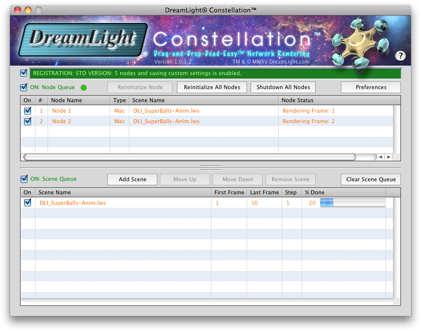 DreamLight Constellation Dropbox Rendering