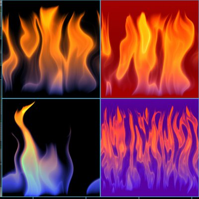 DLI_FireFlow Animated Fire Filter