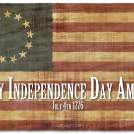 Happy Independence Day America! July 4, 1776