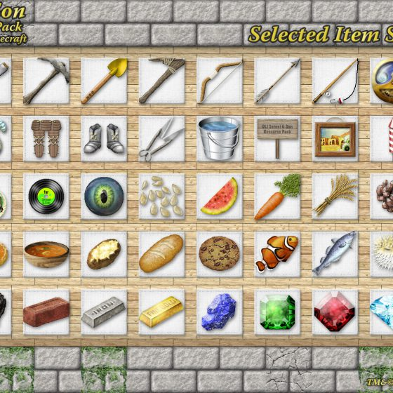 Item Icon Textures<br>Sensei & Son HD128 Minecraft Texture Pack