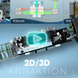 3D Animated Product Video with 2D Motion Graphics