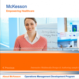 Branded Multimedia Presentation – McKesson
