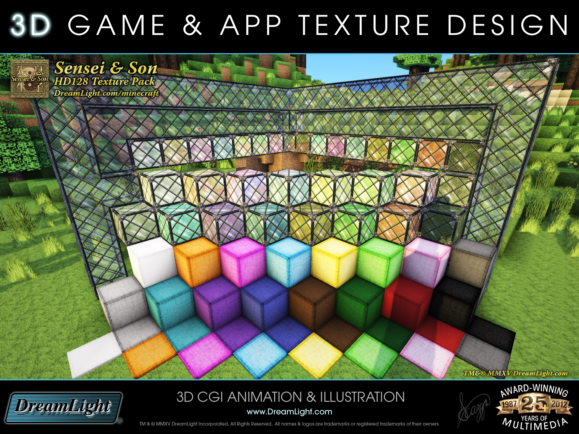 3d game app texture and graphics design minecraft for 3d architecture app