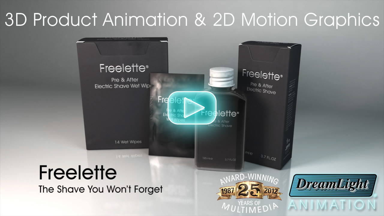 3D Product Animation with 2D Motion Graphics