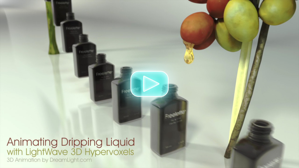 Animating Dripping Liquid with LightWave 3D Hypervoxels