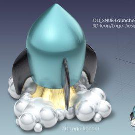 Award-winning 3D Icon Design & 3D Logo Design