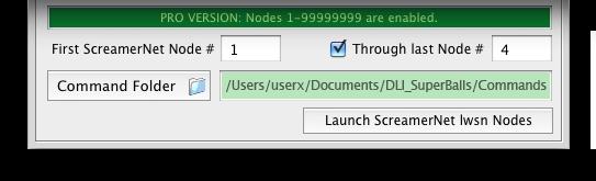 DLI_SNUB-Launcher Batch Settings Drawer - LightWave ScreamerNet Batch + Network (Mode -2) Rendering DLI SNUB Launcher for LightWave 3D LWSN Network Rendering on Mac OS X & Windows