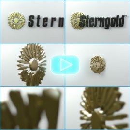3D Logo Animation for Corporate Video Open & Close Bumpers