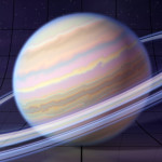 3D Photorealistic CGI Rendering + Illustration of Saturn
