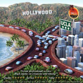 3D CGI Conceptual Illustration – UCLA, Fidelity…