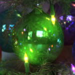 3D Photorealistic CGI Rendering + Illustration of Christmas Ornaments