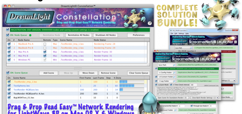 NEW DreamLight Constellation Network Render Controller Released as Open-beta