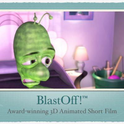 Award-winning 3D CGI Short Film – BlastOff!