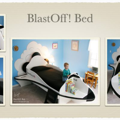 Based on the original BlastOff! Bed
