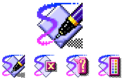 Macromedia FreeHand App Icon Design