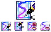 Macromedia FreeHand Doc Icon Design