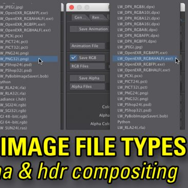 Recommended Animation Image File Types