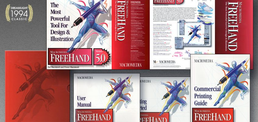 Design 101 – Creating FreeHand's Software Identity – A DreamLight Insight Archive 1995