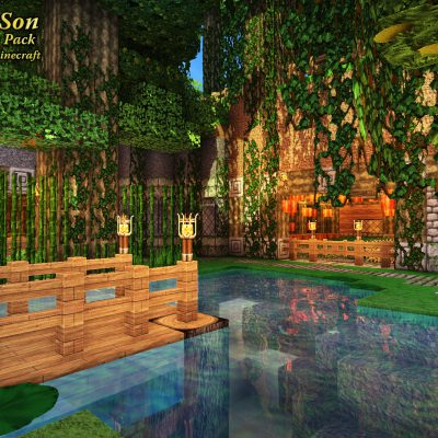 Caldera Pond<br>Sensei & Son HD128 Minecraft Texture Pack