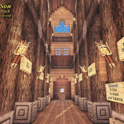Mt Fuji Market<br>Sensei & Son HD128 Minecraft Texture Pack