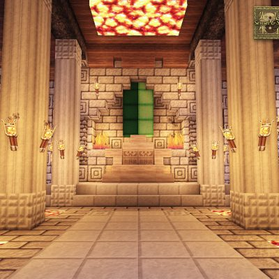 Throne Room<br>Sensei & Son HD128 Minecraft Texture Pack