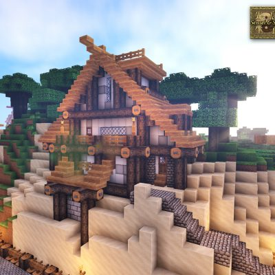 Isle Mansion<br>Sensei & Son HD128 Minecraft Texture Pack