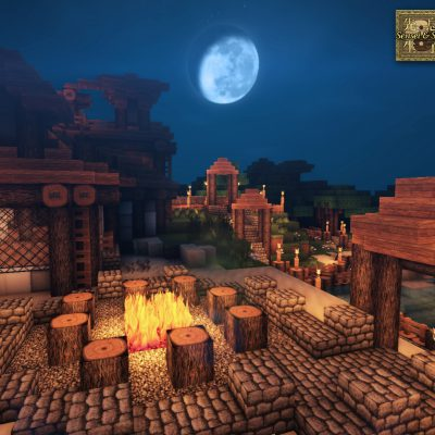 Isle Fire Pit<br>Sensei & Son HD128 Minecraft Texture Pack