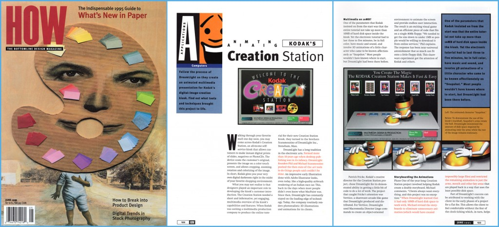How Magazine - Scaramozzino - Kodak Creation Station