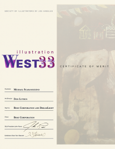 Illustration West 33 Certificate of Merit - Scaramozzino
