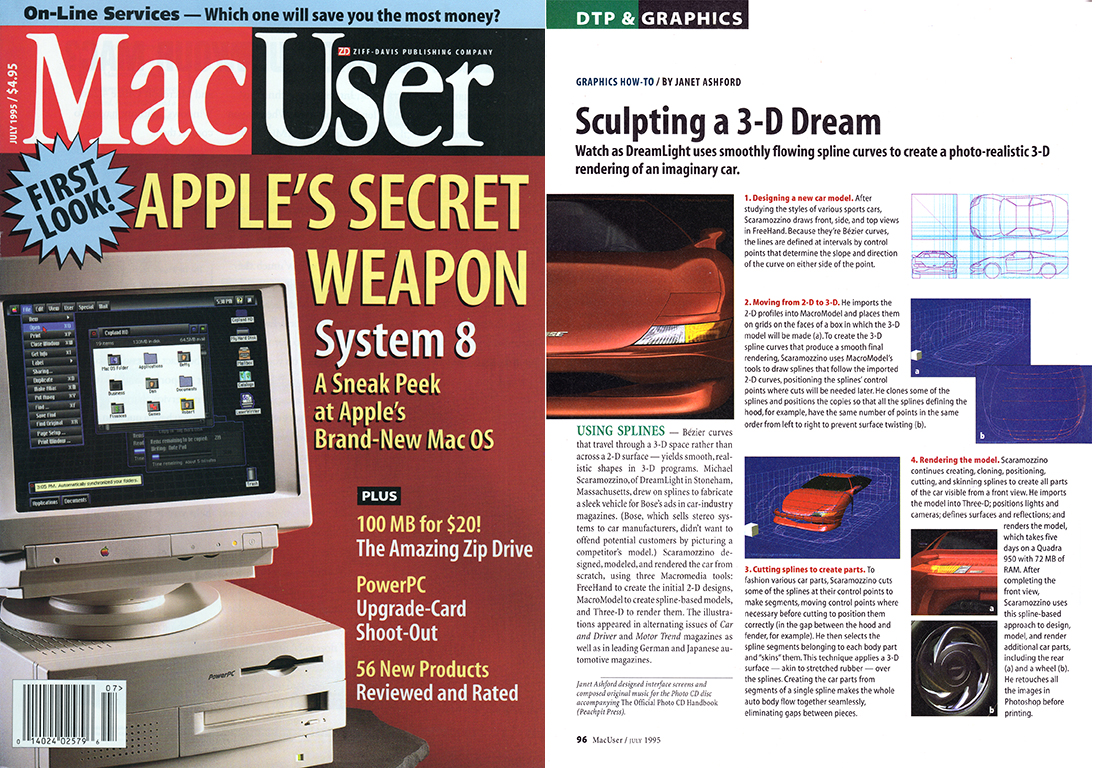 MacUser Behind the Scenes How To Article
