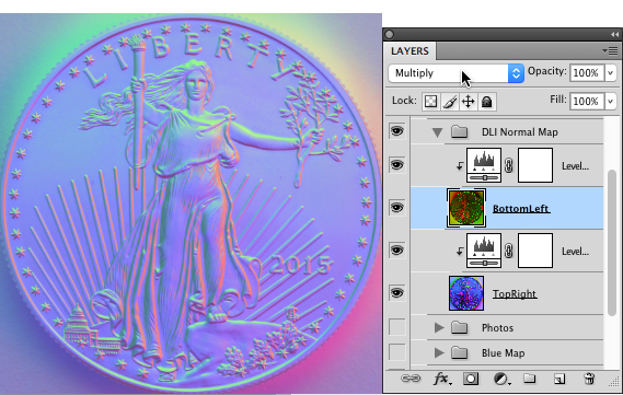 Normal Map Composite Layer - How to Create Normal Maps from Photographs