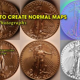 How to Create Normal Maps from Photographs