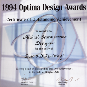 Optima Design Award - Scaramozzino
