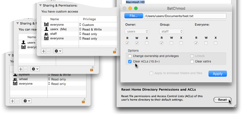 How to Fix Mac OS X File Permissions