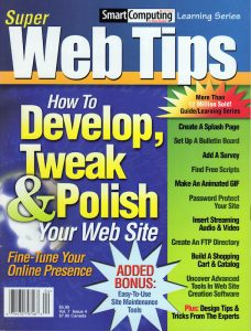 Basic Web Design Tips in Super Web Tips Magazine Article