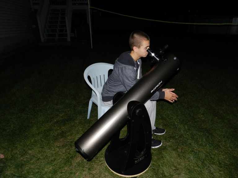 Testing out the Telescope with 3D Printed Parts