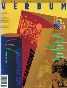 Verbum Magazine - Scaramozzino - Lucid Beginnings