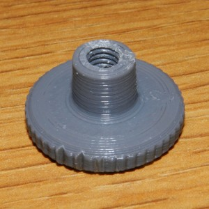 Final Version of 3D Printed Thumb Nut Completed