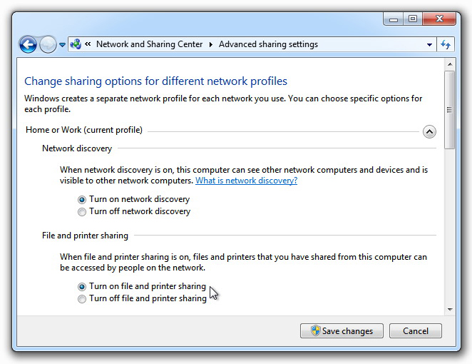 Activate Windows File Sharing to share DLI_SuperBalls folder on the Host