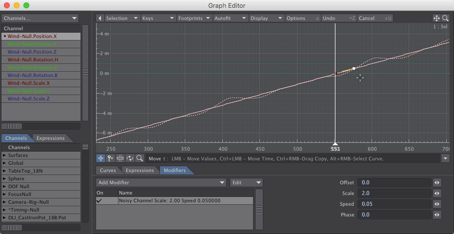 Noisy Channel Wind Null - How to Animate Waving Plants with Displacements