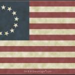 13 Star Betsy Ross Flag - Linen